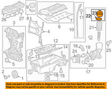 GM OEM Engine Parts-Filter Cover 55593189
