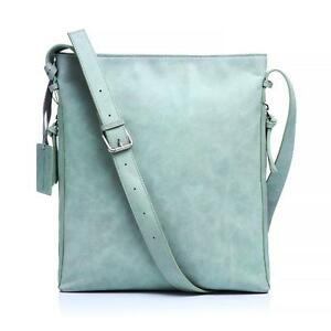 New Lusso Genuine Italian Leather Handbag - Stunning Sky Blue