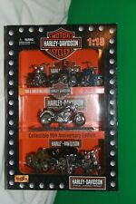 HARLEY-DAVIDSON 2003 MAISTO 1:18 COLLECTION 95th ANNIVERSARY EDITION MOTORCYCLES