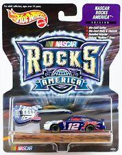 Hot Wheels Racing NASCAR Rocks America #12 Mobil Jeremy Mayfield w/Guitar 1999