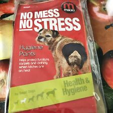 Dog Pants for Bitchs In Season Female Physiological Nappy Sanitary Diaper S M L