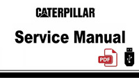 Cat Caterpillar 3208 Truck Engine 51Z Service Repair Manual in USB