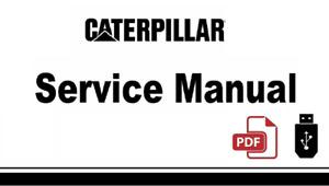 Cat Caterpillar 226 Skid Steer Loader 5FZ Service Repair Manual in USB