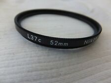Nikon Genuine L37c 52mm Lens Filters From JAPAN