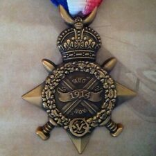 WWI Mons Star (With Clasp) 5th Aug - 22nd Nov 1914
