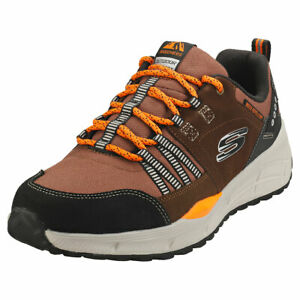 Skechers Equalizer 4.0 Trail Mens Brown Black Suede & Synthetic Fashion Trainers