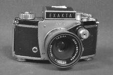 Exakta Varex IIb mit isco Iscotar 2,8/50 / Ihagee Dresden SLR 60er Jahre defekt