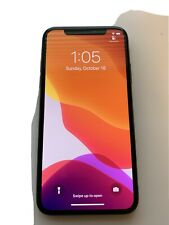 Apple iPhone X - 64GB - Space Gray Unlocked A1901 (GSM)