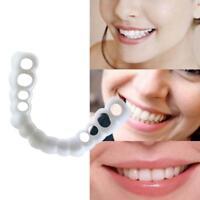 Sonrisa cosméticos dientes falso diente superior de la cubierta dental natural c