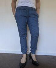 Ripe denim Maternity Size M Blue tencel Jogger Jeans AS NEW