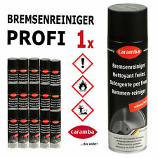 Caramba PROFI Bremsenreiniger Teilereiniger acetonfrei 500 ml Spray Dose Neu