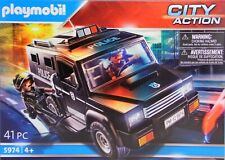 PLAYMOBIL Police 5974 Polizei Spezialeinsatz-Truck SEK 2 Polizisten Zubehör NEU