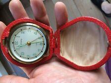réveil de voyage ancien EUROPA horlogerie vintage swiss  SUPERBE ETAT    2