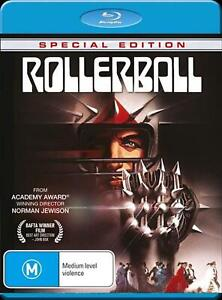 ROLLERBALL Special Edition Blu-Ray (New/Sealed) Region A, B, C