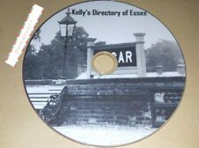 Kelly's kellys Directory of Essex transferred from original books to Pdf for PC