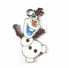 Lot of 20 pcs new Dance Olaf Snowman design Metal Charms DIY Jewellery Pendants
