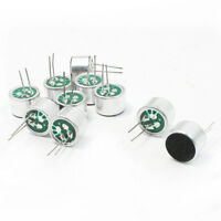 10 PCS 9.7mm x 7mm 2 Pin MIC Capsule Electret Condenser Microphone AD