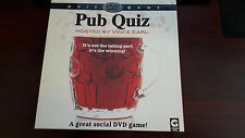 Pub Quiz DVD Video Game Hosted By Vince Earl 1 Player - 4 Teams Players