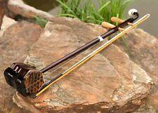 New Wonderful Wood Musical  Instruments  Turning Chinese .ErHu
