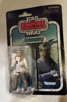 "Star Wars Vintage Collection 3.75"" Rebel Soldier Hoth ESB Case Frsh-creased card"