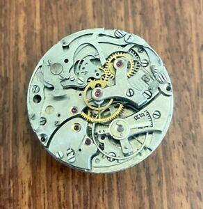 Venus Caliber 188 Chronograph Watch Movement Perfect Balance and Hairspring