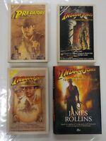 Indiana Jones 1/4 - Saga Completa dei 4 Libri da Collezione -COMPRO FUMETTI SHOP