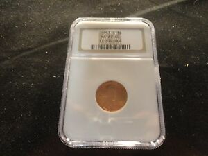 1953-S  LINCOLN WHEAT CENT 1C NGC MS-67 RD- CRISP- RED- RARE- HOT DEAL-SALE