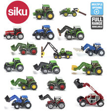 SIKU Miniature Scale 1:87 Diecast Model Farming Farm Tractors Toys 3 Years+