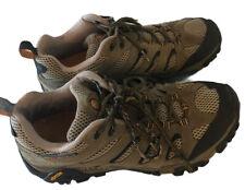 Merrell Moab Ventilator Walnut Men's  Sz 11.5 Brown Trail Hiking Vibram Shoes