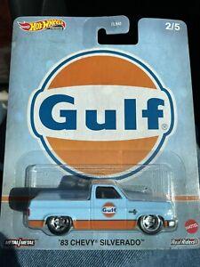 2020 Hot Wheels Gulf Silverado 2/5 In Hand Ready