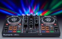 Numark Party Mix Dj Controller Midi with Virtual and Effects Light Incorporated