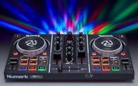 Numark Party Mix Controller Midi con Serato Dj Lite ed Effetti Luce Incorporati