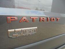 2016 Jeep Patriot New Front Door 75th Patriot & 1941 Emblem Bronze / Red Mopar