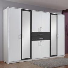 Wimex Diver Kleiderschrank  - Weiß/Schwarz (548450)