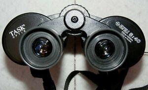 Task Optik BNU 8x40, coated binoculars + case etc. s/n 224499. Made in Russia
