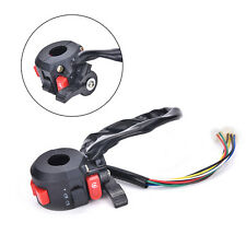 Left Start Kill ON-OFF Switch For Chinese ATV Quad With 22mm Handlebar 8-WiresEC