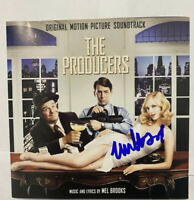 Matthew Broderick Signed Autographed The Producers Original Movie  Soundtrack CD