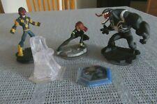 Disney Infinity - Marvel Nova, Black Widow, Venom, Crystal Playset, Avengers