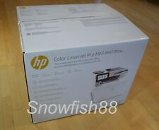 New HP Laserjet Pro M479fdw Color Laser All In One Printer w/wrty $599 NO TONER!