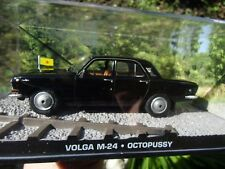 007 JAMES BOND  - Russian VOLGA M 24 - OCTOPUSSY (1983) - 1:43 BOXED CAR MODEL