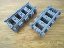 8 LEGO Straight train track. New! 7499/7896/60205/60197/60198