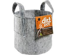 5 Gal Dirt Pots (1, 3, 5 pcs) Reusable Fabric Planters w/ Handles Containers Bag