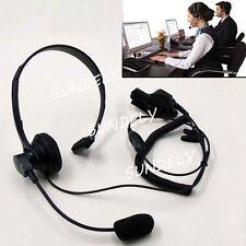 For Motorola Radio High Quality Over Head Headset Earpiece Mic  MT2000 MTS2000