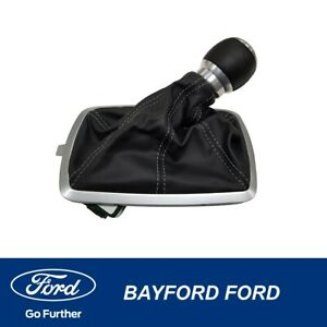 GENUINE FORD FGX FALCON 6 SPEED MANUAL GEAR KNOB AND BOOT XR XR6