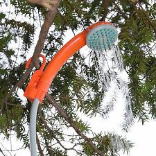 Usb 5L/mins Shower Head Water Spray Pump Handheld Outdoor Camping Hiking Shower