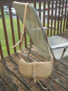 FRANCESCO BIASIA made in Italy Camel Color Leather Front Flap Shoulder Bag/Cross