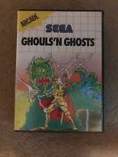 Ghouls N Ghosts Sega Master System Game Uk CiB