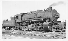 Z456 RPPC 1949 NYC  NEW YORK CENTRAL RAILROAD  ENGINE #1152 EAST ALTON IL