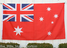 Big 1.5 Metre Australian Red Ensign Large New Flag 3x5ft - Nautical Sailing Boat