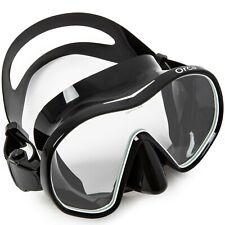 Adventure At Nature Orca Professional Scuba Diving Snorkeling Mask Black White